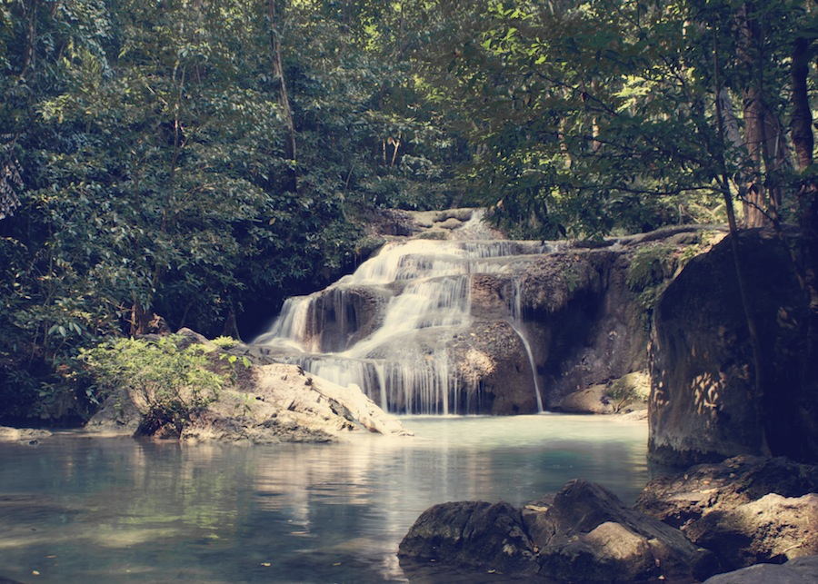 Waterfall Erawan National Park